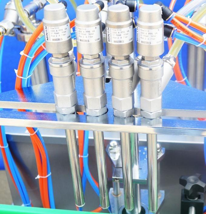 玻璃瓶自动液体灌装机