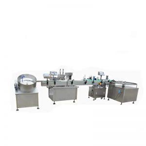 高速电子液体灌装机